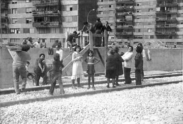 Estas fotografias del año 1973 han sido facilitadas por Jaume Valls, miembro de la Asociación El pont de la Llibertat