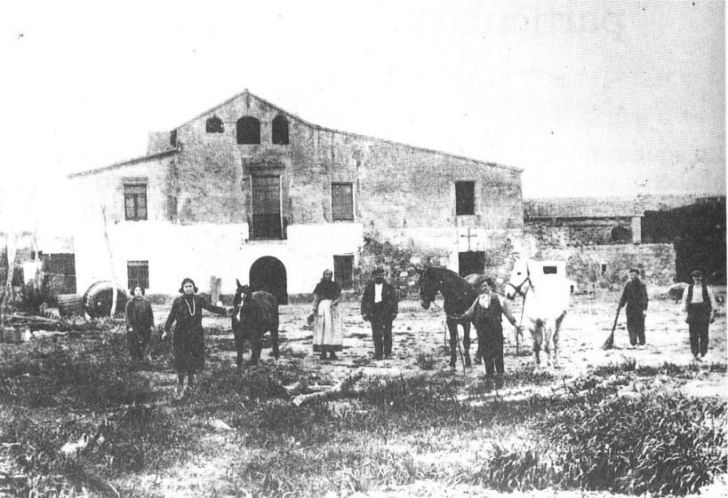 Cal Masover Nou, Cal Garsa o Manso Tarragona