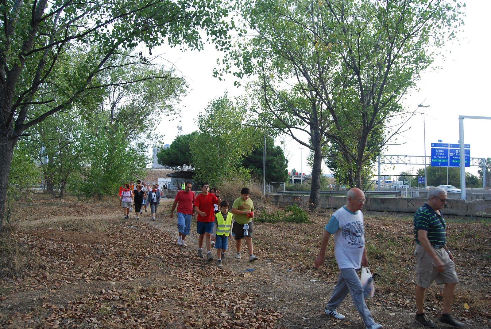 Caminada al riu Llobregat