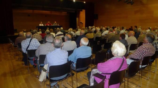 La comisión de pensionistas y jubilados de L´H.