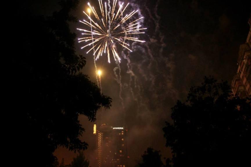 15 de Septiembre 2013, Fuegos Artificiales Fin de Fiestas
