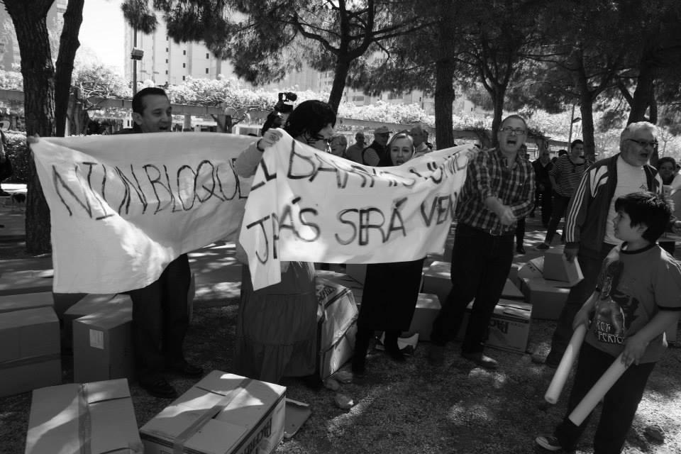 5 De Abril 2014 - Boicot a las obres, Bellvitge Rol en vivo